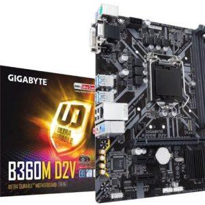 Gigabyte B360M D3V – graphicskhl